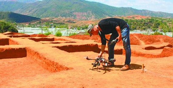 辽宁省文物局考古现场:扫描—数据修复、处理—模型打印及后处理