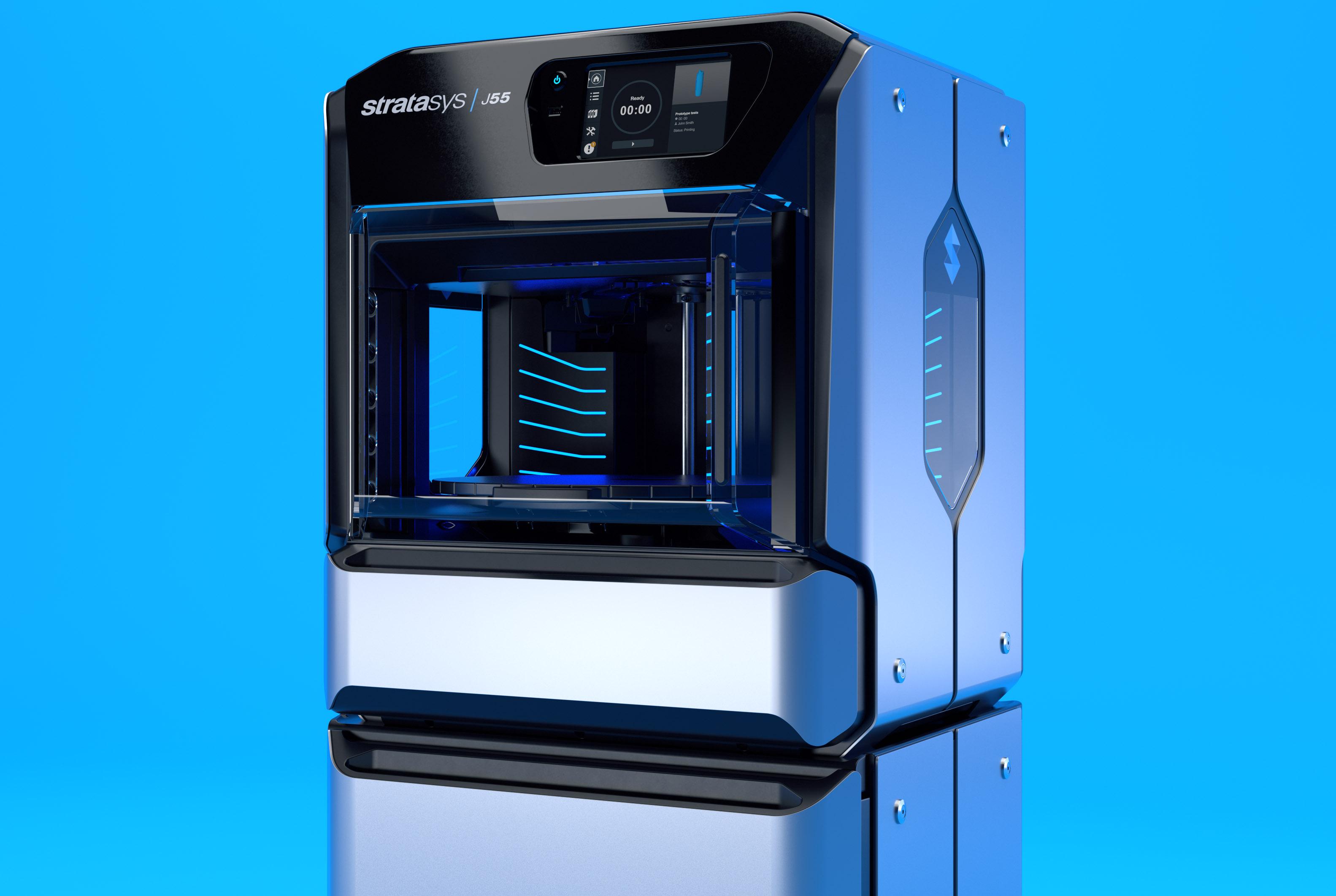 全彩色3D打印机J55,让创造无处妥协!